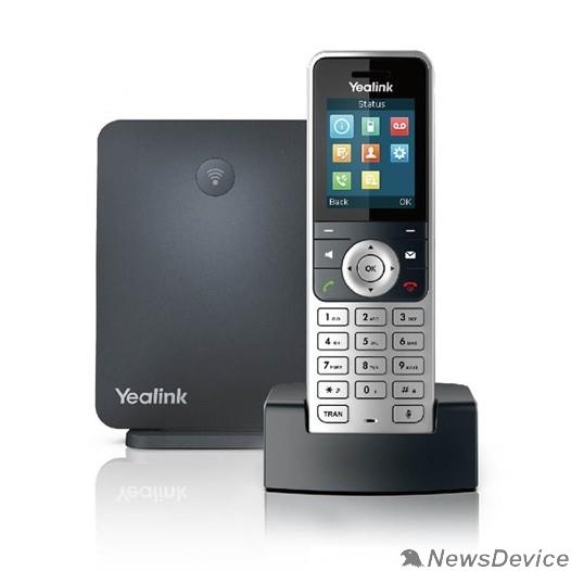 VoIP-телефон YEALINK W53P DECT (база W60B + трубка W53H), 8 SIP-аккаунтов, до 8 трубок на базу, 8 одновременных разговоров