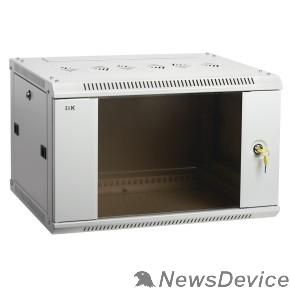 Монтажное оборудование ITK LWR3-06U66-GF Шкаф LINEA W 6U 600x600 мм дверь стекло, RAL7035 LWR3-06U66-GF