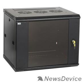 Монтажное оборудование ITK LWR5-06U66-GF Шкаф LINEA W 6U 600x600 мм дверь стекло, RAL9005