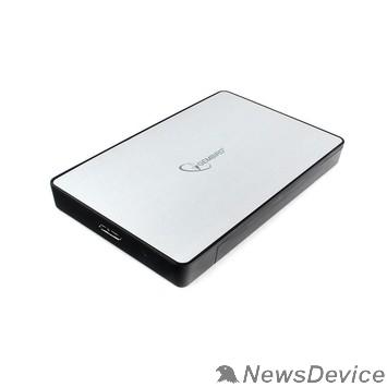 "Контейнер для HDD Gembird EE2-U3S-31P Внешний корпус 2.5"" серебро, USB 3.0, SATA, до 2 Тб, пластик/металл"