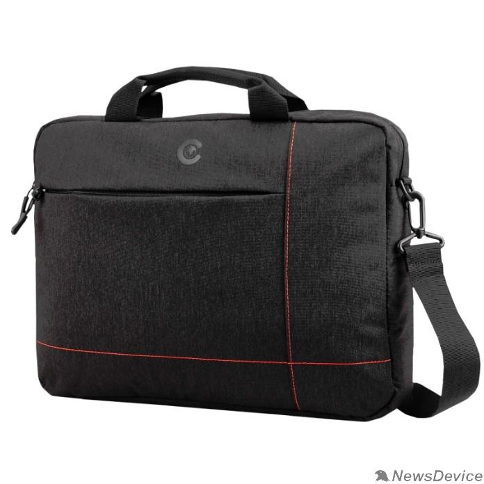 Сумка для ноутбука Сумка Continent  CC-211 Black (полиэстр, черный  15,6'')