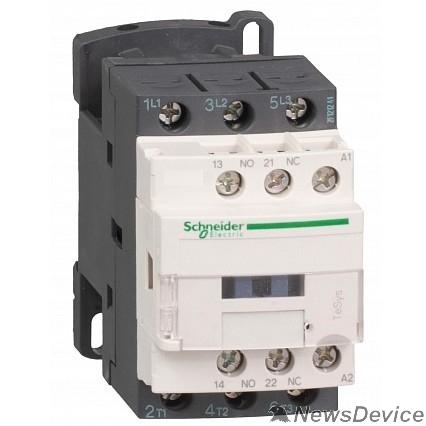 SE Контакторы TeSys D до 75 кВт Schneider-electric LC1D25P7 Пускатель магнитный 25А катушка управления 230В АС 1НО+1НЗ LC1D