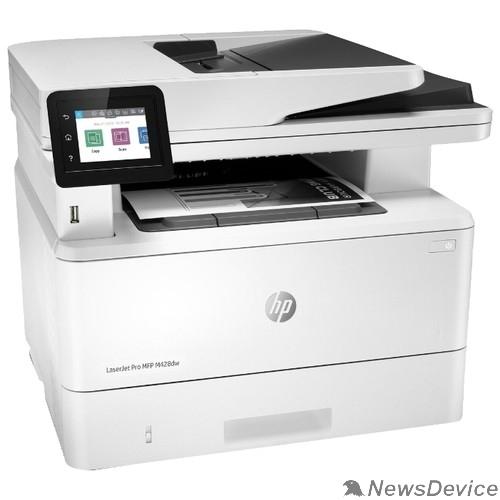 Принтер HP LaserJet Pro MFP M428dw (W1A31A)  p/c/s, A4, 1200dpi, 38ppm, 512Mb, Duplex, USB2.0+Walk-Up/GigEth/WiFi/NFC