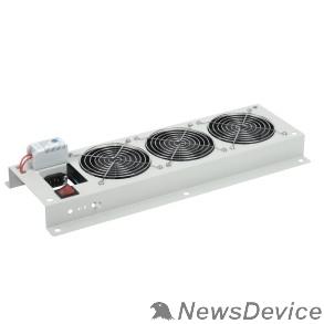 Монтажное оборудование ITK FM35-22M Вентиляторная панель с выключателем и термостатом 2 модуля серая