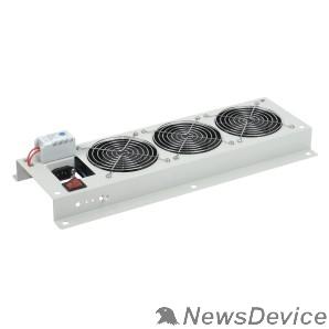 Монтажное оборудование ITK FM35-32M Вентиляторная панель с выключателем и термостатом 3 модуля серая
