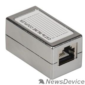 Монтажное оборудование ITK CS70-1C5EF Проходной адаптер кат.5E FTP, тип RJ45-RJ45