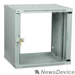Монтажное оборудование ITK LWE3-09U64-GF Шкаф LINEA WE 9U 600x450 мм дверь стекло серый