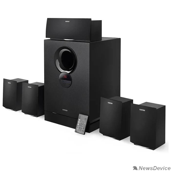 Колонки Edifier R501TIII Black  RMS 11W x 5 + 38W, PC, Aux, SD Card, USB
