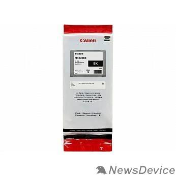 Расходные материалы Canon PFI-320BK  Картридж  для Canon TM-200/TM-205/TM-300/TM-305, чёрный, 300 мл (GJ)
