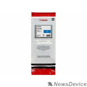 Расходные материалы Canon PFI-320С Картридж  для Canon TM-200/TM-205/TM-300/TM-305, голубой, 300 мл (GJ)