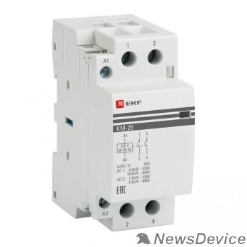 EKF Контакторы модульные и малогабаритные EKF km-2-16-20 Контактор модульный КМ 16А  2NO (2 мод.) PROxima