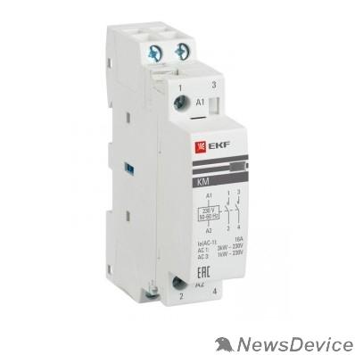 EKF Контакторы модульные и малогабаритные EKF km-1-20-20 Контактор модульный КМ 20А  2NO (1 мод.) PROxima