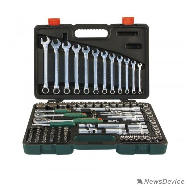 """Набор инструмента JONNESWAY (S68H5234111S) Набор инструмента универсальный 1/4"""", 1/2""""DR Super Tech, 111 предметов"""