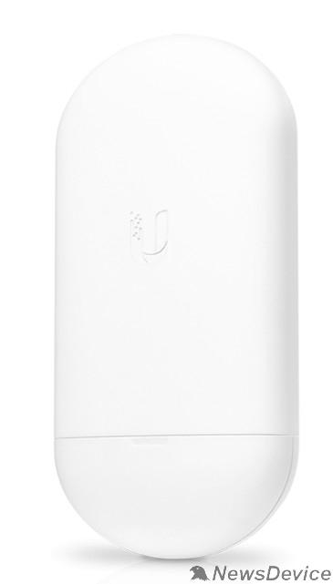 Сетевое оборудование UBIQUITI Loco5AC NanoStation 5AC Loco Точка доступа (AP/CPE), 5 ГГц, airMAX ac, 10 км, MIMO 2х2