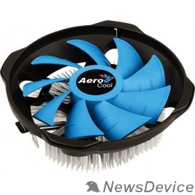 Вентилятор Cooler Aerocool BAS U-3P 110W/ Intel 115*/AMD/ Clip