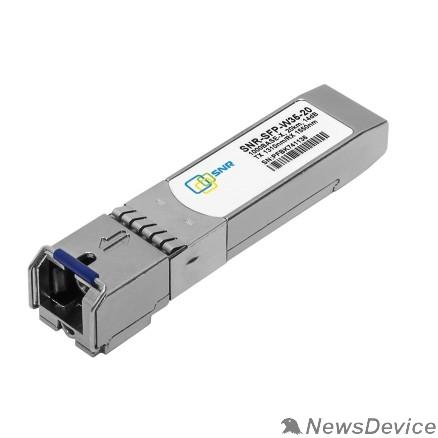 Сетевое оборудование SNR-SFP-W35-20 SNR Модуль SFP WDM, дальность до 20км (14dB), 1310нм