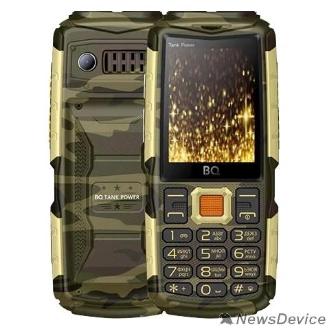 Мобильный телефон BQ-2430 Tank Power Комуфляж+Золото