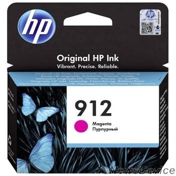 Расходные материалы HP 3YL78AE Картридж № 912 струйный пурпурный (315 стр) HP OfficeJet 801x/802x