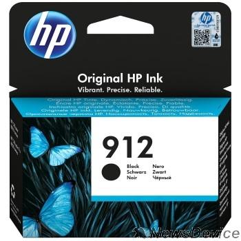 Расходные материалы HP 3YL80AE Картридж № 912 струйный черный (300 стр) HP OfficeJet 801x/802x