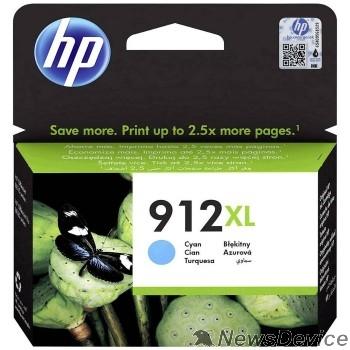 Расходные материалы HP 3YL81AE Картридж № 912 струйный голубой (825 стр) HP OfficeJet 801x/802x