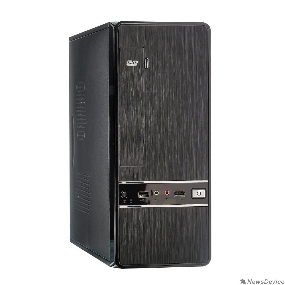 Корпуса Exegate EX280452RUS Корпус Slim Minitower Exegate MS-305 Black, mATX <без БП, 80mm> 2*USB, Audio