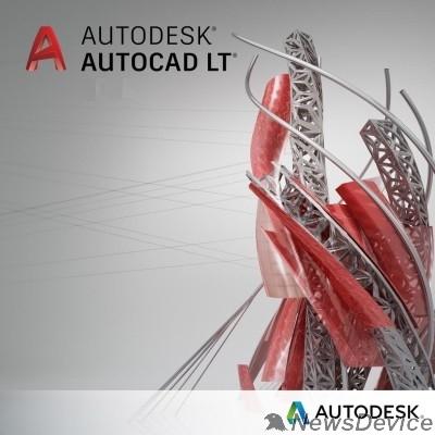 Программное обеспечение 057L1-WW8695-T548 AutoCAD LT 2020 Commercial New Single-user ELD Annual Subscription Велесстрой (5 шт.)