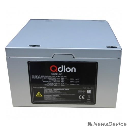 Блок питания  FSP 600W ATX Q-Dion QD-600-PNR 80+ 600W, 120mm, 5xSATA, 2xPCI-E, APFC, 80+
