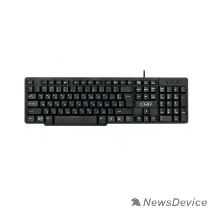"""Клавиатура CBR KB 120, Клавиатура проводная полноразмерная, USB, 104 клавиши, конструкция """"скелетон"""", длина кабеля 1,8 м"""