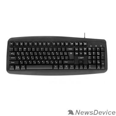 Клавиатура CBR KB 151, Клавиатура проводная полноразмерная, USB, 105 клавиш, ABS-пластик, длина кабеля 1,8 м