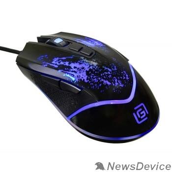Мышь Oklick 888G black optical (2400dpi) USB Gaming (6but) 1103513
