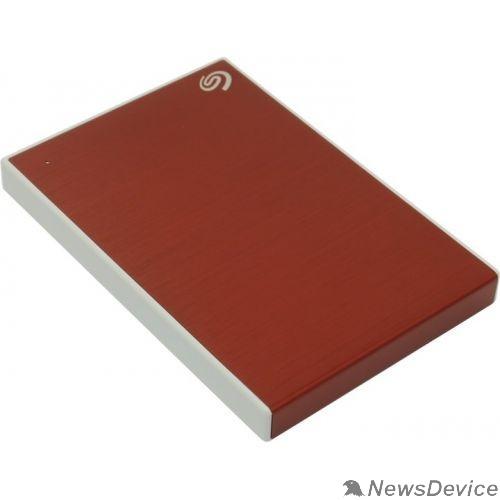 "Носитель информации Seagate Portable HDD 1Tb Backup Plus Slim STHN1000403 USB 3.0, 2.5"", red"