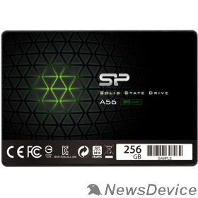 накопитель Silicon Power SSD 256Gb A56 SP256GBSS3A56B25 SATA3.0, 7mm