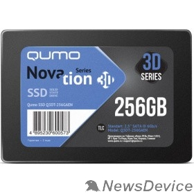 накопитель QUMO SSD 256GB QM Novation Q3DT-256GAEN SATA3.0