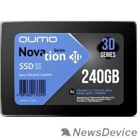 накопитель QUMO SSD 240GB QM Novation Q3DT-240GPBN/GPPN OEM SATA3.0