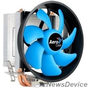 Вентилятор Cooler Aerocool Verkho 3 Plus  125W/ Intel 115*/AMD/ PWM/ Clip