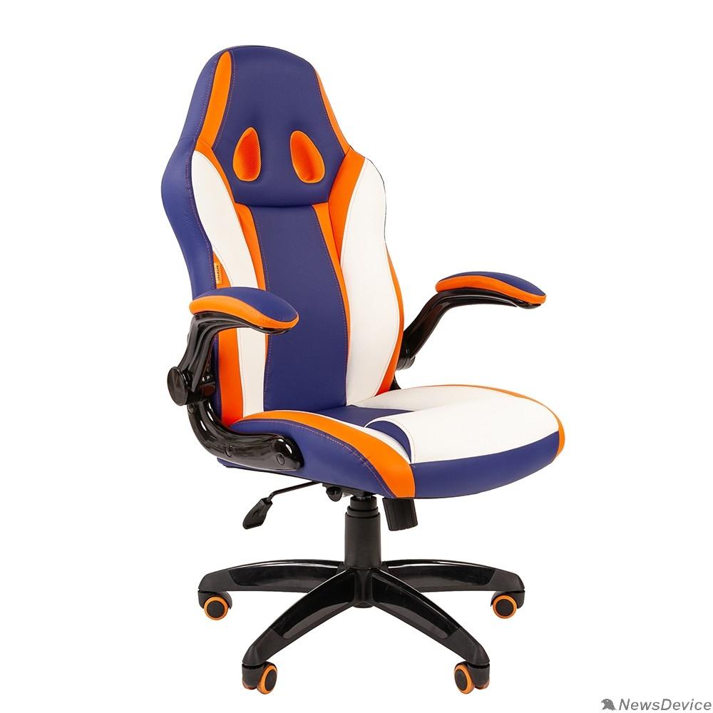 Офисные кресла Офисное кресло Chairman   game 15 Россия экопремиум mixcolor (7033039)