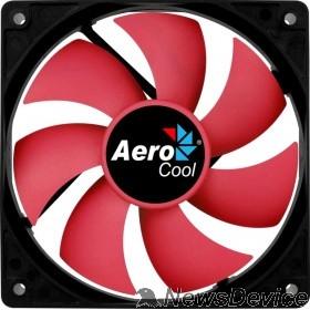 Вентилятор Fan Aerocool Force 12 PWM / 120mm/ 4pin/ Red blade