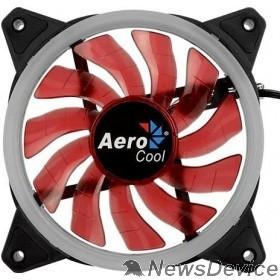 Вентилятор Fan Aerocool Rev Red / 120mm/ 3pin+4pin/ Red led