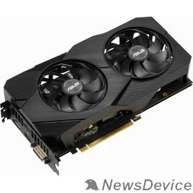 Видеокарта ASUS DUAL-RTX2060-O6G-EVO  RTL GeForce RTX, 2060, 6144Mb, 192bit, GDDR6, 1365/14000 DVIx1/HDMIx2/DPx1/HDCP