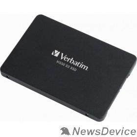 носитель информации Verbatim SSD 256GB Vi550 49351 SATA3.0