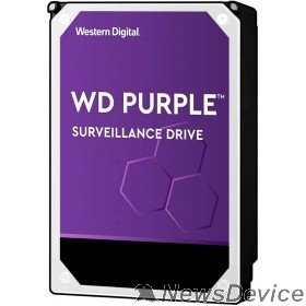"Жесткий диск 8TB WD Purple (WD82PURZ) Serial ATA III, 7200- rpm, 256Mb, 3.5"""