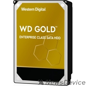 Жесткий диск 4TB WD Gold  (WD4003FRYZ) SATA III 6 Gb/s, 7200 rpm, 256Mb buffer