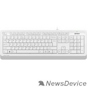 Клавиатура Клавиатура A-4Tech Fstyler FK10 WHITE белый/серый USB 1147536