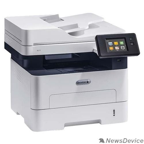 Копировальный аппарат Xerox B215 (B215V_DNI) A4, P/C/S/F/, 1200x1200, 30ppm, max 30K pages per month, 256MB, Eth, ADF, Wi-Fi, USB (замена 3215V/NI )