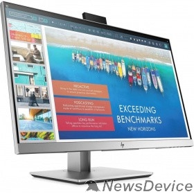 "Монитор LCD HP 23.8"" E243d Docking Monitor серебристый IPS LED 1920x1200 7мс 16:9 250cd 178гр/178гр HDMI D-Sub DisplayPort (Out) USB-C(VideoIn) USB3.0x3 AudioOut WebCam(720p) 1TJ76AA"