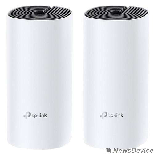 Сетевое оборудование TP-Link DECO E4(2-PACK) AC1200 Домашняя Mesh Wi-Fi система