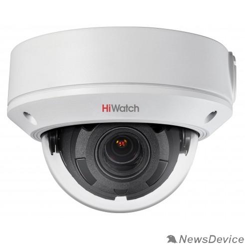 Видеонаблюдение HiWatch DS-I258 Видеокамера IP 2.8-12мм цветная корп.:белый