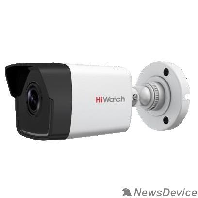 Видеонаблюдение HiWatch DS-I400(B) (2.8 mm) Видеокамера IP 2.8-2.8мм цветная корп.:белый