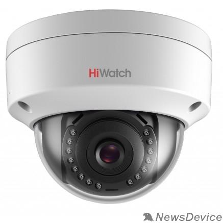 Видеонаблюдение HiWatch DS-I402(B) (2.8 mm) Видеокамера IP 2.8-2.8мм цветная корп.:белый