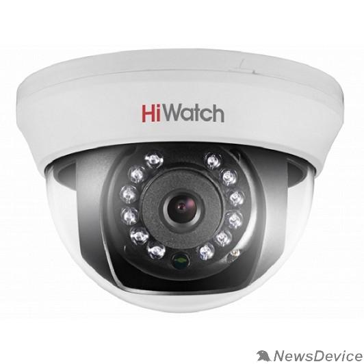 Видеонаблюдение HiWatch DS-T101 (2.8 mm) Камера видеонаблюдения 2.8-2.8мм HD TVI цветная корп.:белый